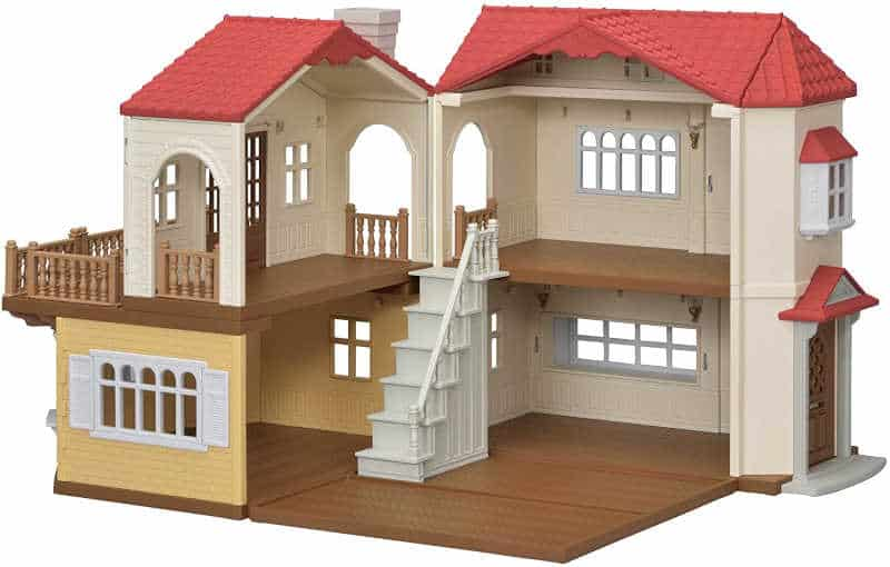 Casa con luces Sylvanian Families