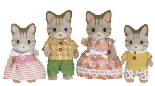 Origen Sylvanian families - gatos