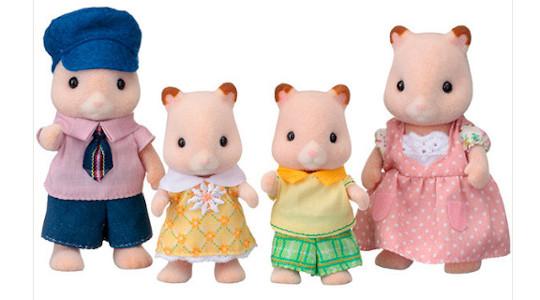 Historia Sylvanian Families - hamster