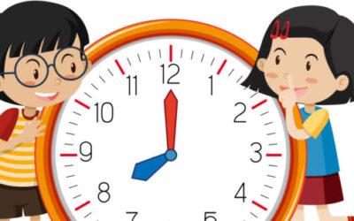 Juguetes para enseñar la hora a un niño