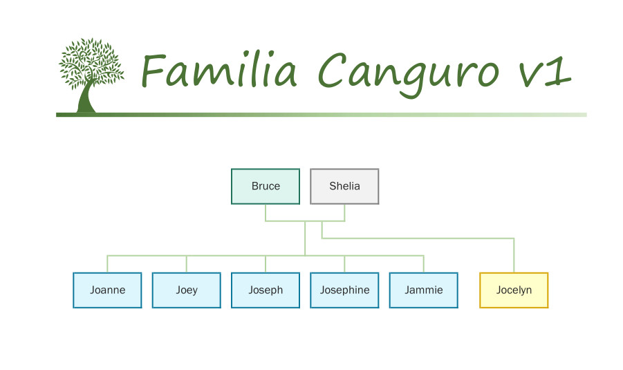 Familia Canguro v1 catálogo Sylvanian Families