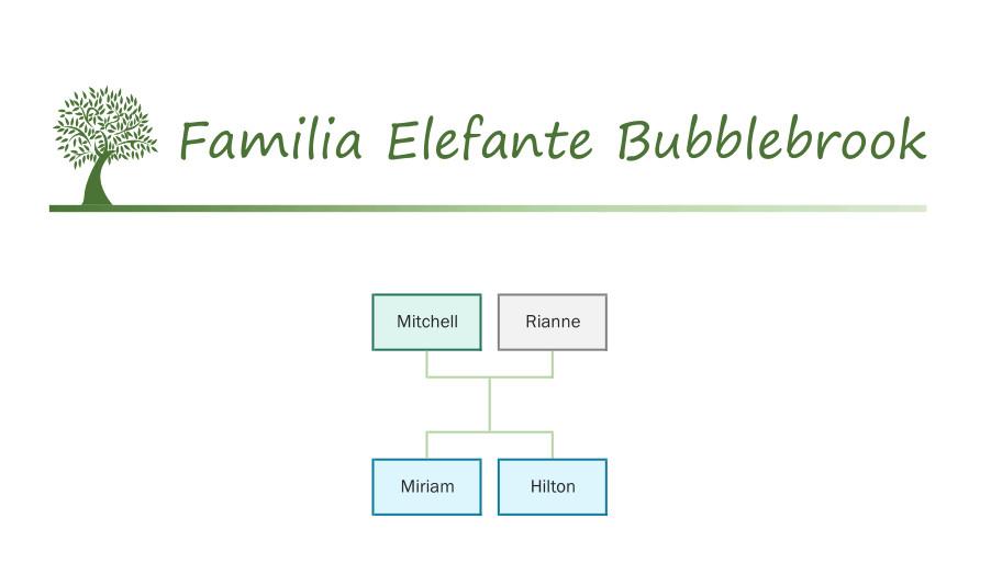 Familia Elefante Bubblebrook Sylvanian