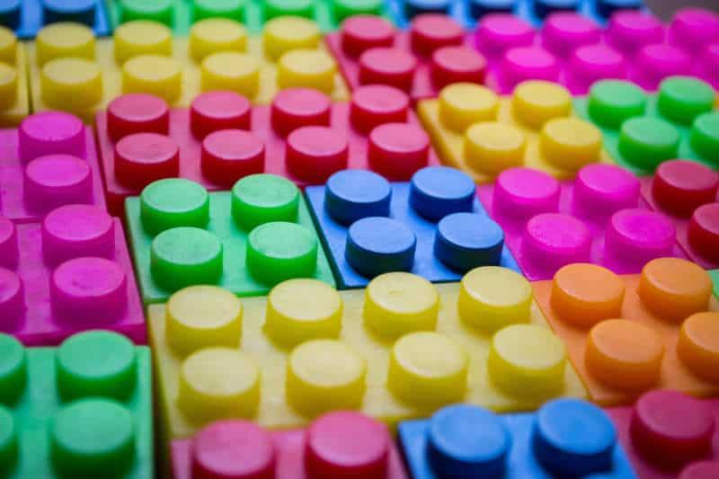 Bloques para aprender los colores