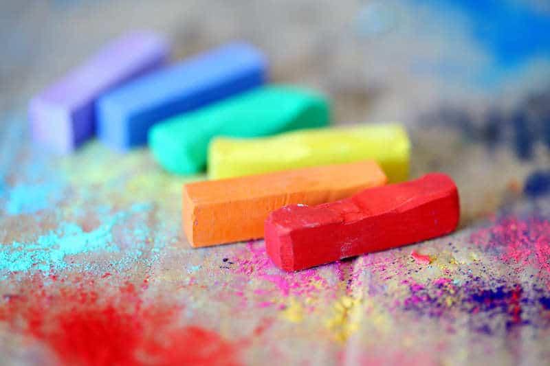 Colores para distinguir los colores