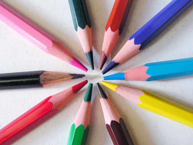Juguetes para aprender los colores