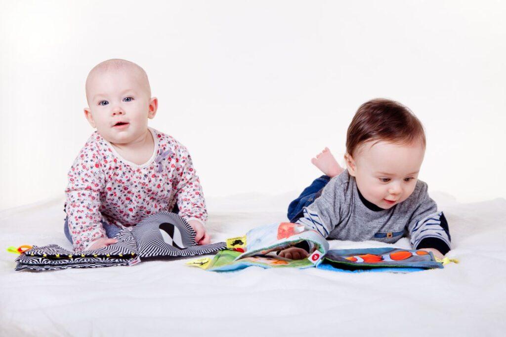 Libros blandos para la estimulación temprana