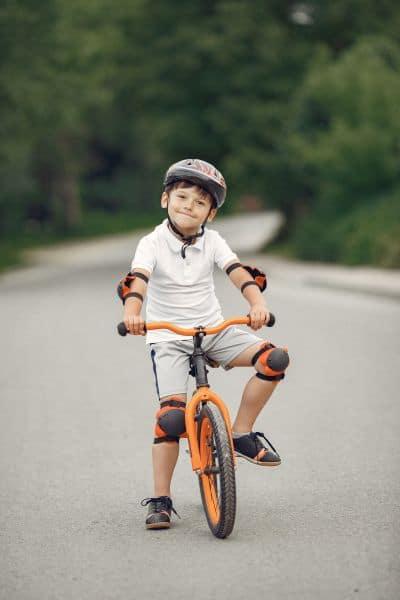 Protecciones al montar en bici