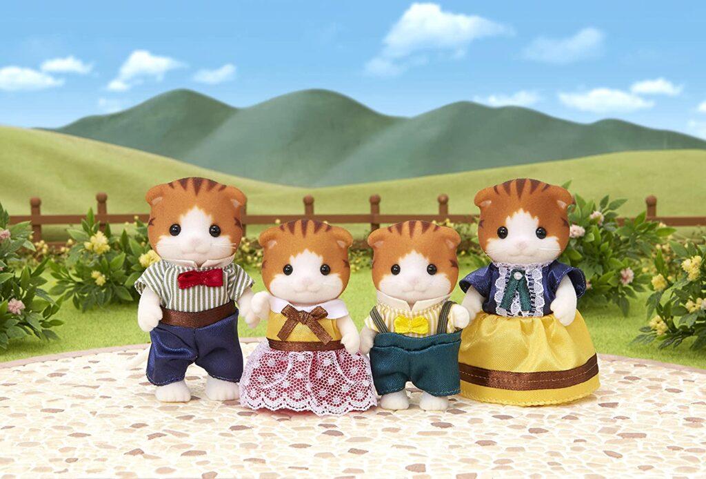 Familia Gato Maple Sylvanian