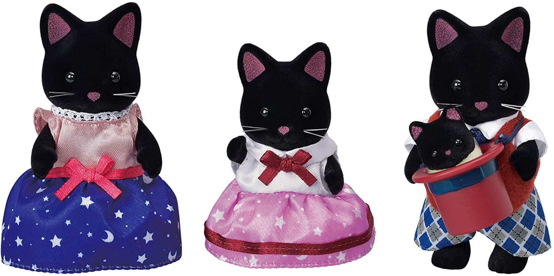 Familia Gato Midnight Sylvanian