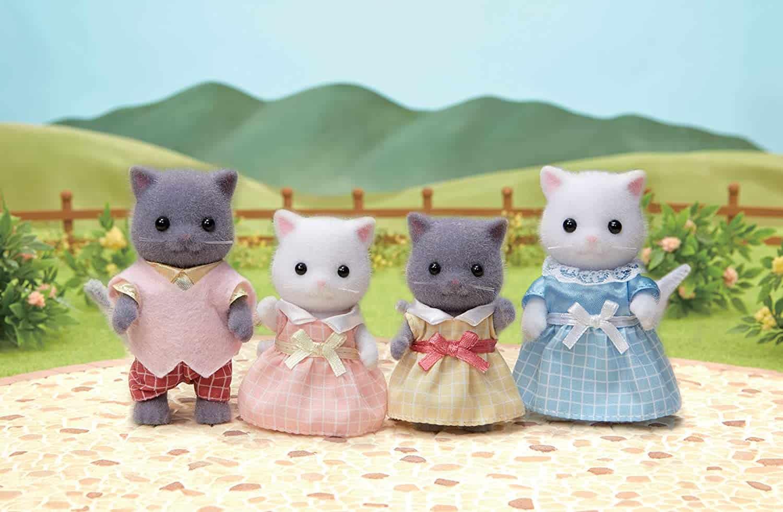 Familia Gato Persa Teak Sylvanian