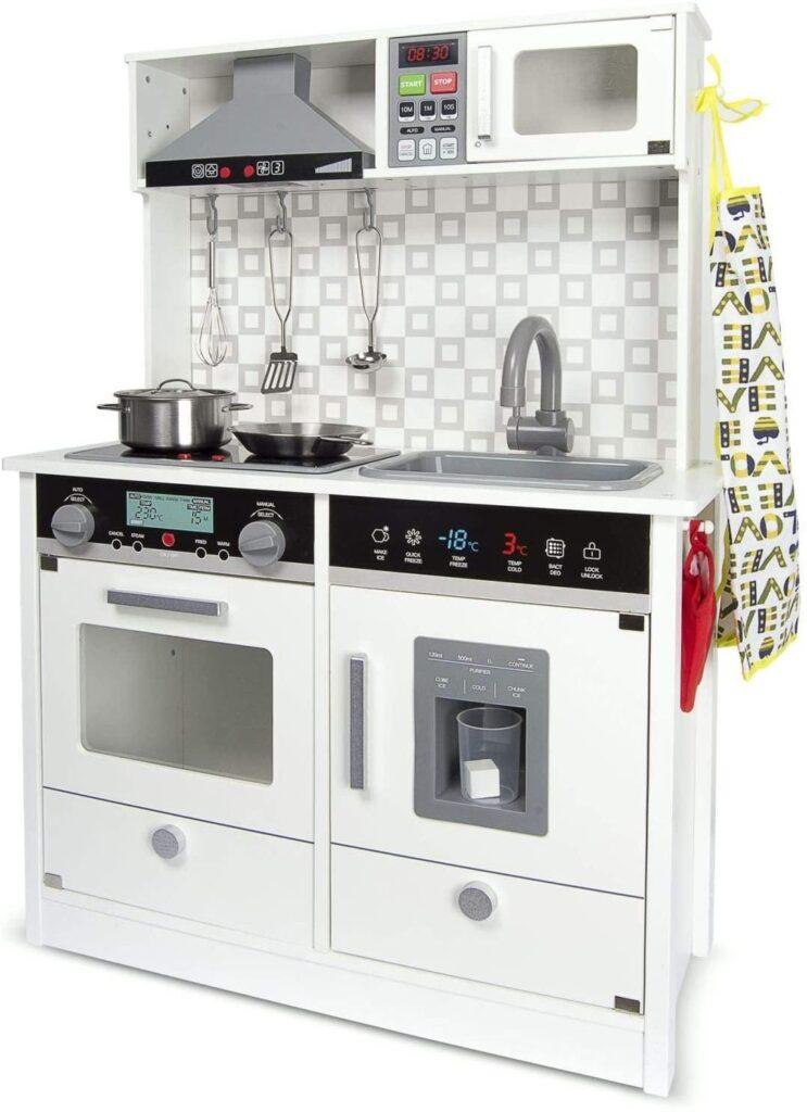 Cocina de madera Leomark White Modern