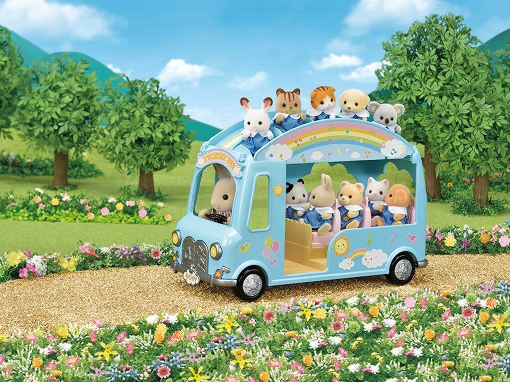 Autobús de la guardería Sylvanian Families
