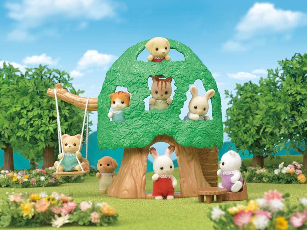 Casa de árbol para bebés