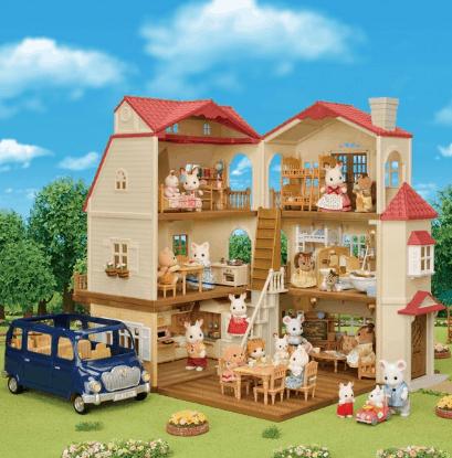 Catálogo de casas y vehículos de Sylvanian Families