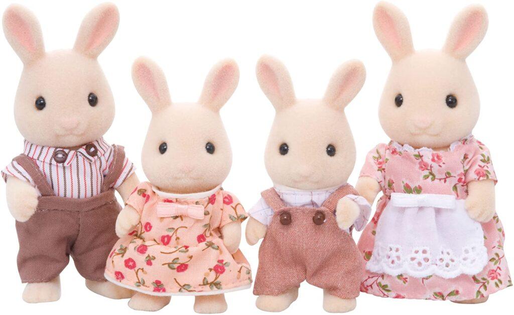 Familia Conejo de Leche Sylvanian