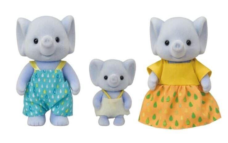 Familia Elefante Sylvanian