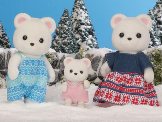 Familia Oso Polar Sylvanian