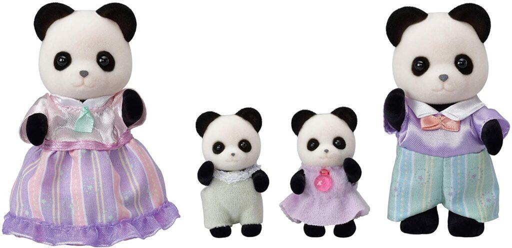 Familia Pookie Panda Sylvanian2