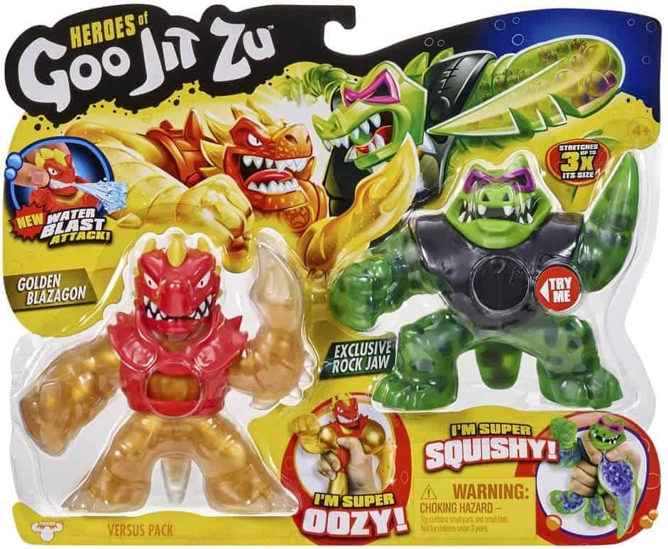 Goo Jit Zu - Blazagon vs Rock Jaw
