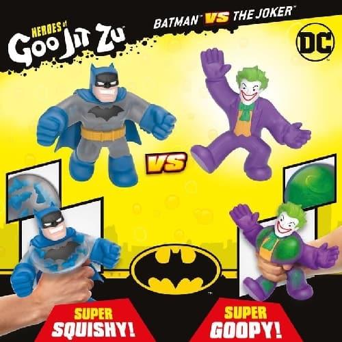 Goo Jit Zu DC - Pack Batman vs Joker