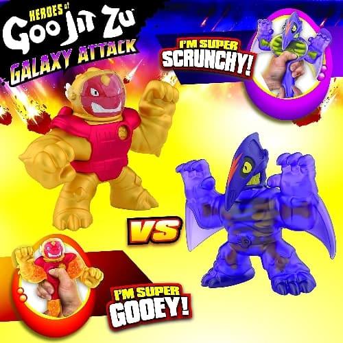 Goo Jit Zu Dino Power Blazagon vs Terrack