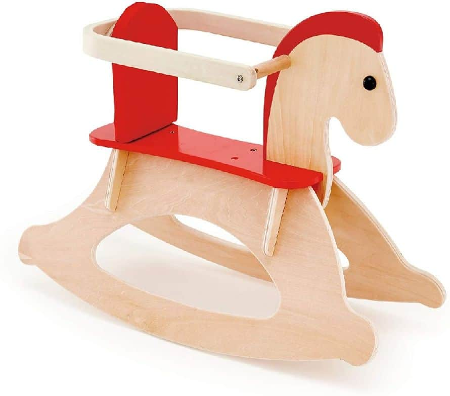Hape - Caballito balancín de madera